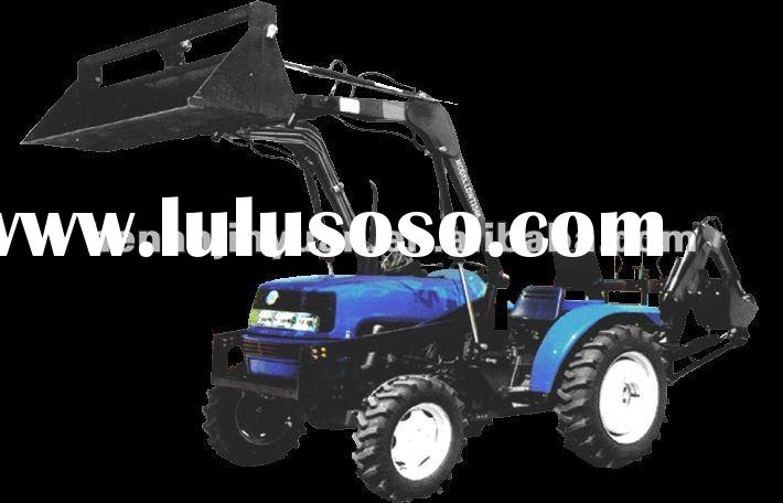 454/554 Series Multifunctional Tractor With front end loader and back hoe