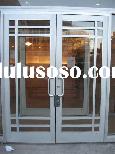 Metal Glass Double Entry Doors For Sale Price China