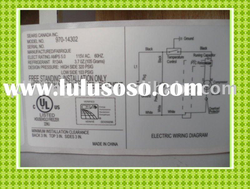 By air or sea, free design revise, OEM available, CMYK color, self adhesive UL label