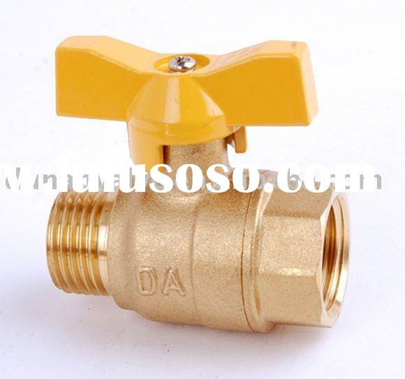 Full port/brass gas ball valve/ball valve elbow brass/ball valves/water
