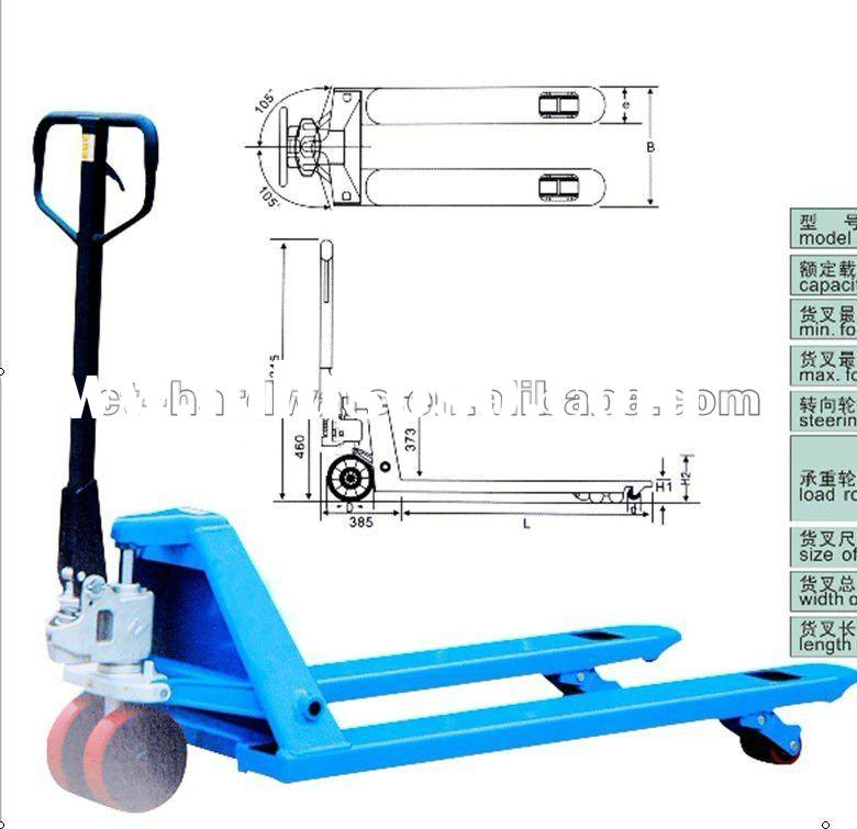 High-quality low-cost multifunction hand pallet truck