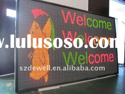 High quality outdoor double sided led sign