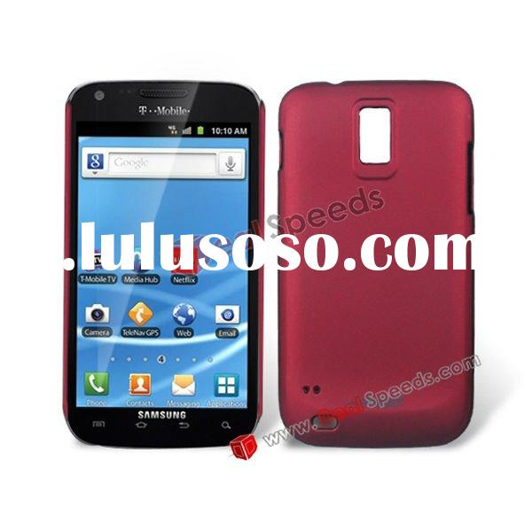 Matte Surface Hard Plastic Case Cover for Samsung Galaxy S2 Lte HD(Red)