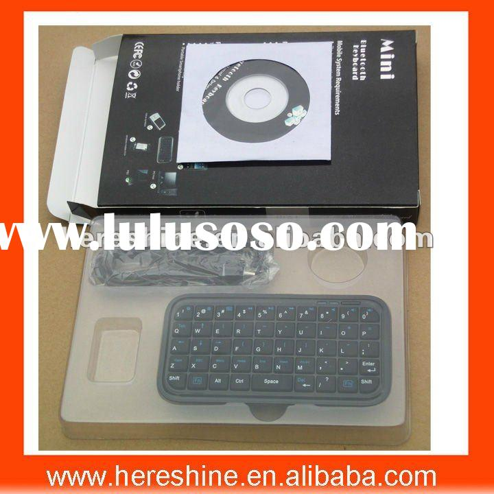 Mini Wireless Bluetooth QWERTY Keyboard for smartphones