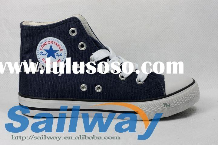 New High Top Canvas Sneakers Men Shoes with side logo printed All Sizes Avis Club