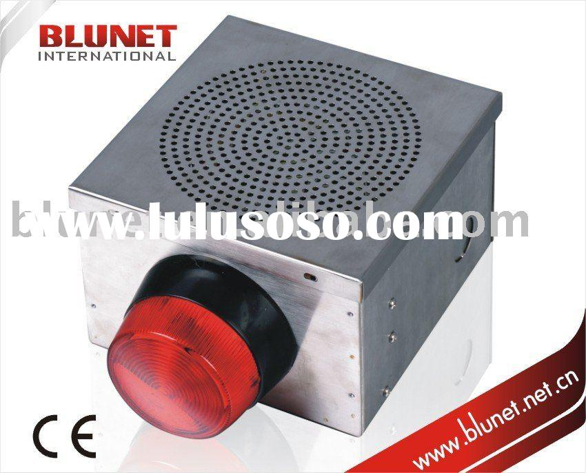 Outdoor siren and strobe light democraciaejustica security outdoor siren exterior alarm with strobe bell box aloadofball Gallery