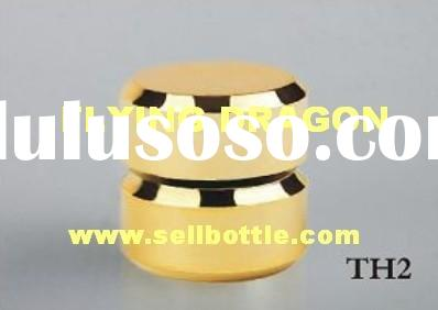 Perfume bottle cap,ABS metallized cap with PP insert,Cosmetic cap