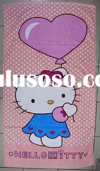 Power seller !Fashion Bath Towel Beach Towel cotton towel for hello kitty A0180 wholesale