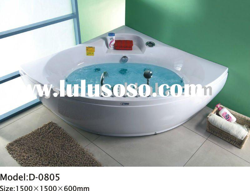 SWD italian type simple design&water massage&Brass faucet&girl shower bathtub,bath tub,h