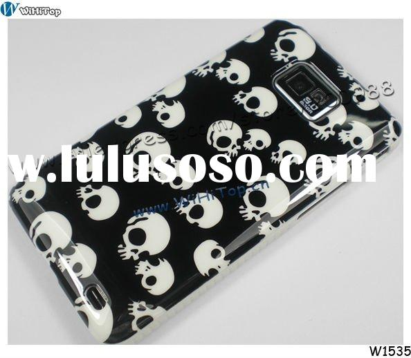 Skull Hard Case for Samsung Galaxy S2 i9100. Hard Cover for Galaxy S2 I9100