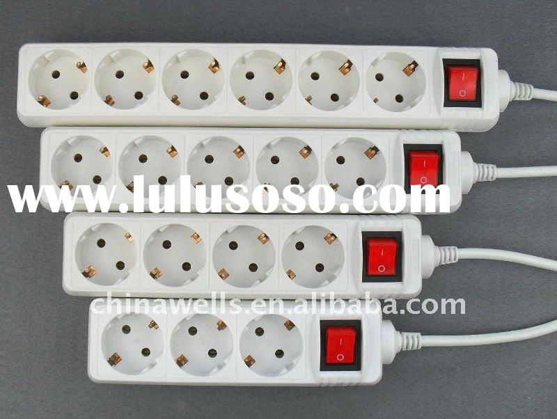The Newest Type! European Electrical Extension Socket