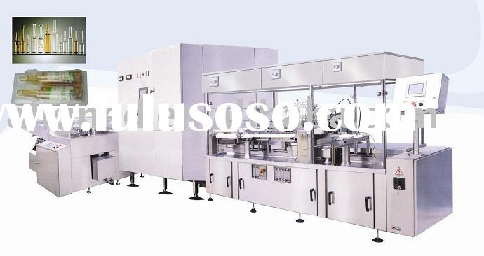 The Production Line Of Washing Machine,Oven, Filling And Sealing Machine For Ampoule Of 1-20ml.