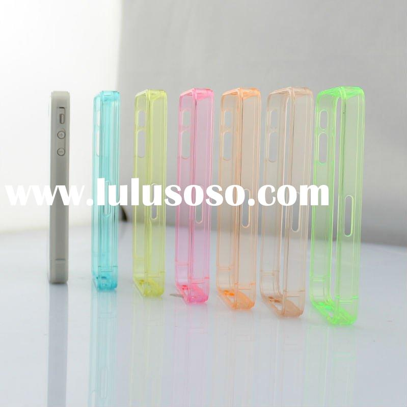 Transparent PC case for iPhone 4 / 4s