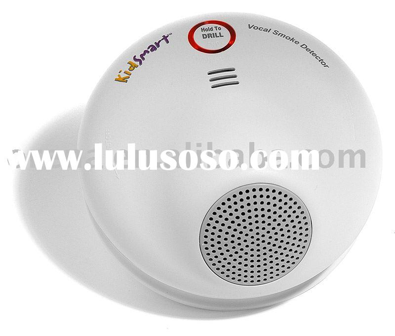 UL listed Vocal Smoke Alarm,smoke detector,fire alarm,smoke sensor