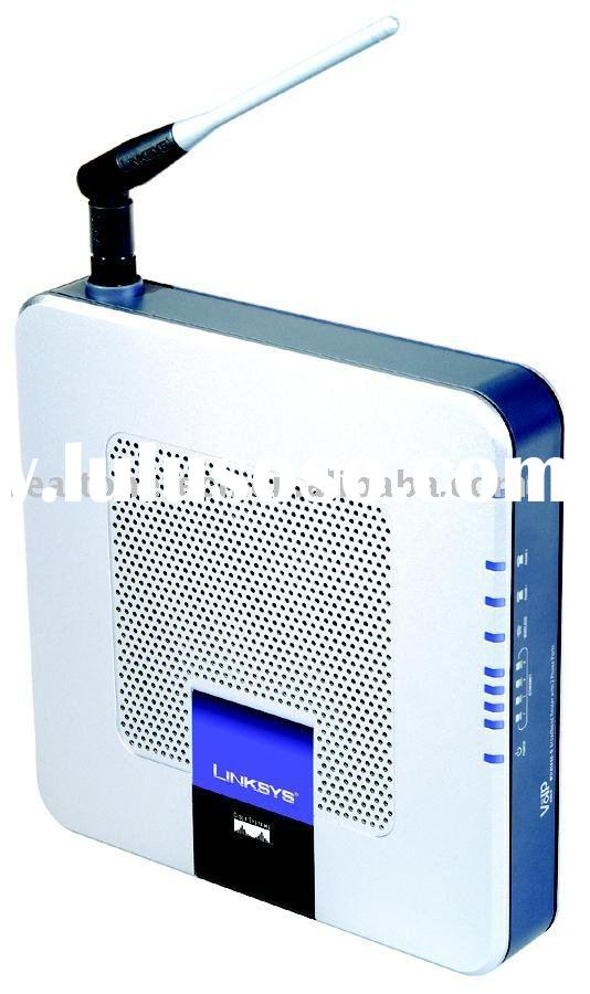 Wireless VoIP Router Link sys WRTP54G