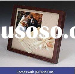 Wooden frame wedding 3D shadow box frame picture frame