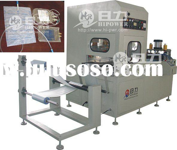 automatic high frequency infusion bag welding machine