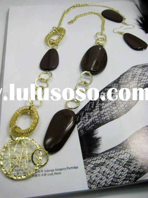fashion chunky necklace