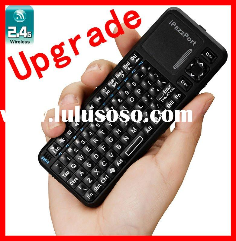 iPazzPort handheld mini wireless keyboard mouse