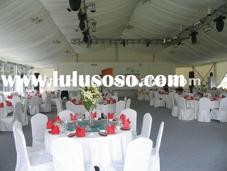 luxury decorations wedding tent for sale