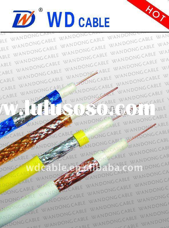 monitor cable 75ohm rg6 triple coaxial cable