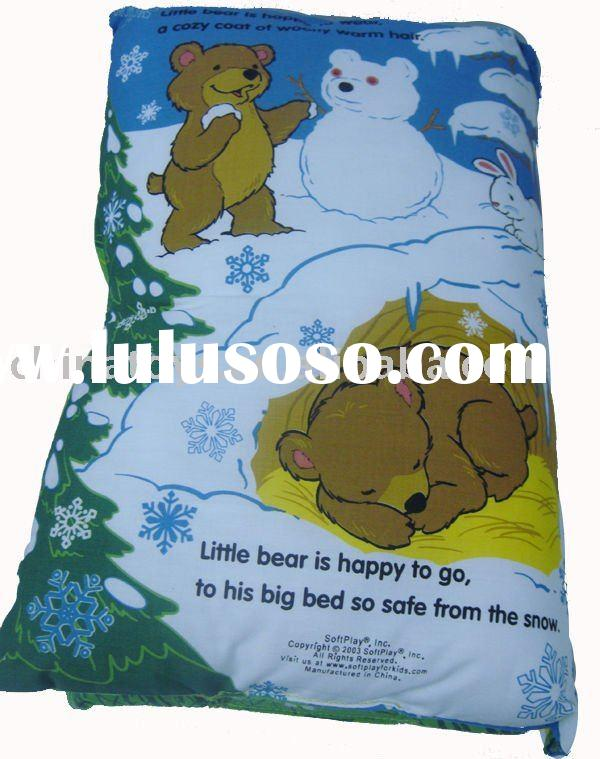 pillow books/cloth book/toys book/education toy