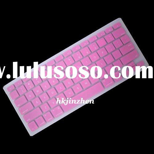 pink silicone keyboard cover case skin for macbook