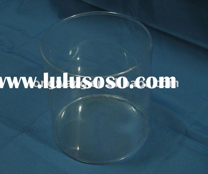 plastic round PVC cylinder candy container