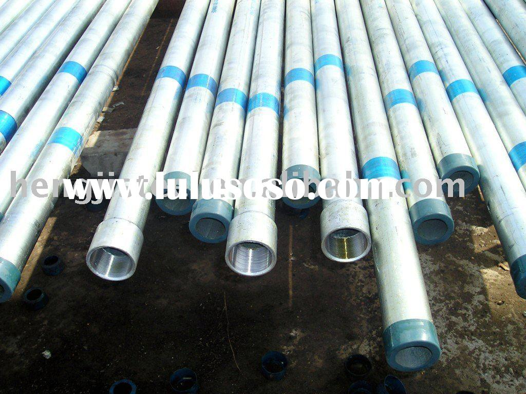 prime quality and best price galvanized steel pipe