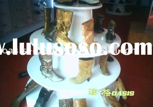 shoes stand ,shope shop equipment , shoes rack