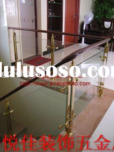 stainless steel glass railing for stair and balcony
