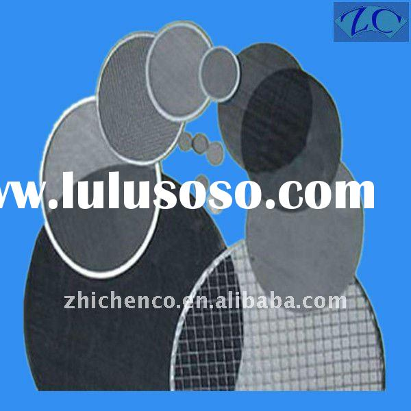 sus306 stainless steel wire mesh filter disc factory