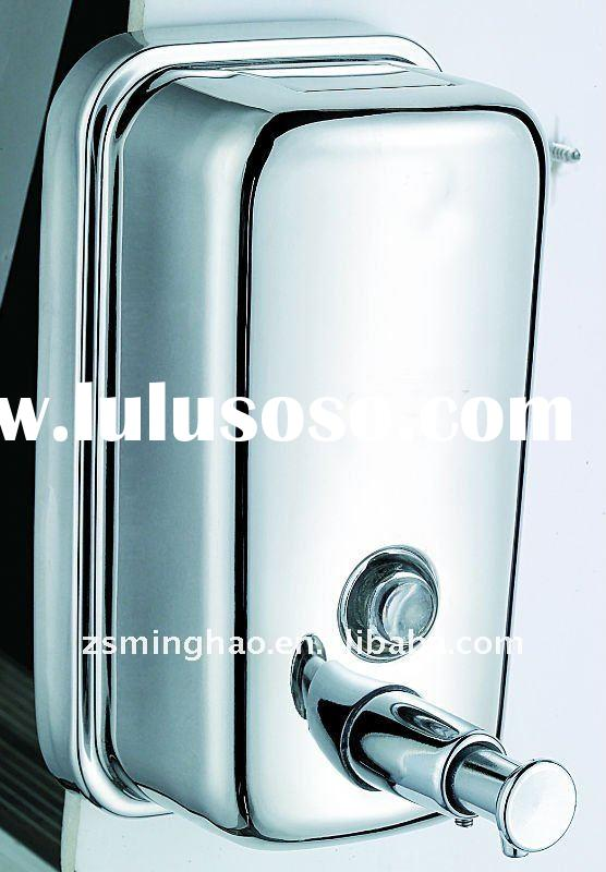 wall mounted stainless steel soap dispenser/manual soap dispenser