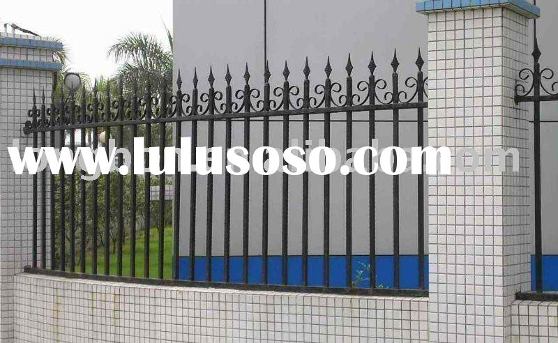 2012 Hand forged modern garden folding fence