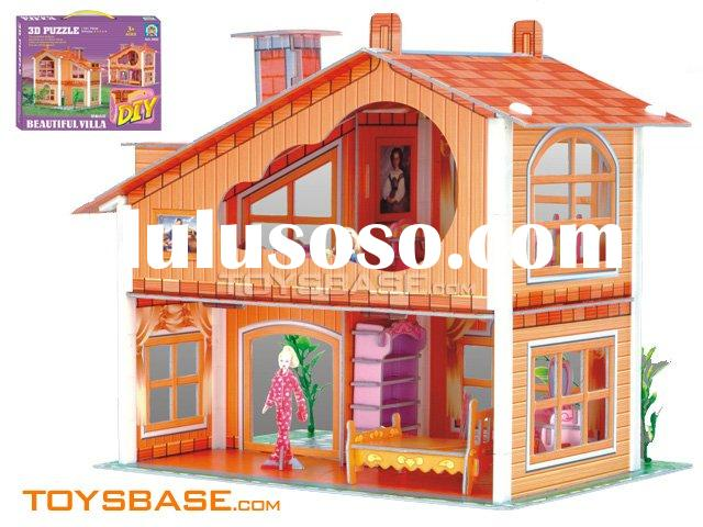 3D Puzzle : Doll house toy IZH97880