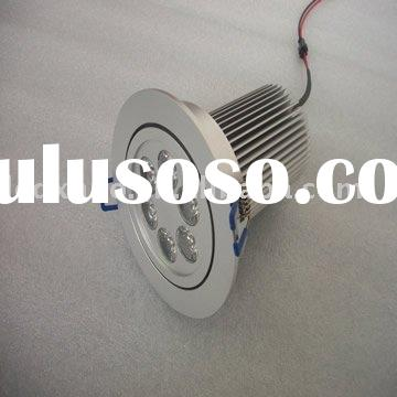 6*1W LED high power 85-265V ceiling