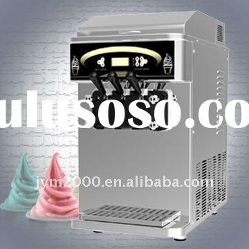 Airpump and Precooling Table Top Frozen Yogurt Ice cream machine