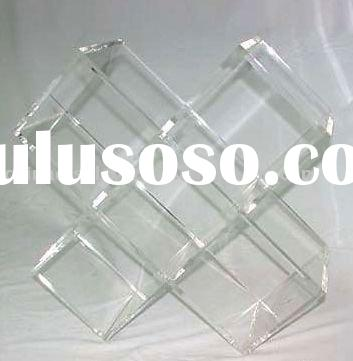 Clear Acrylic CD/DVD Rack/holder/display/stand/display stand