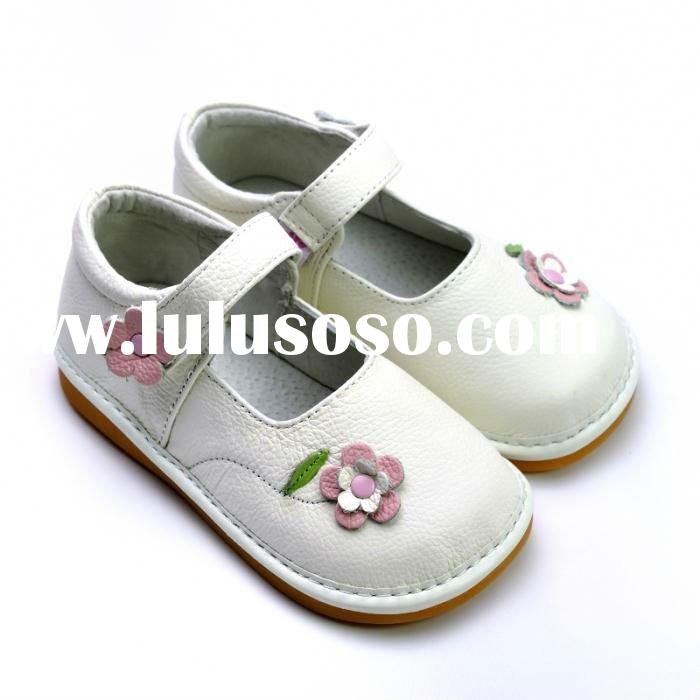 Cute Mary Jane baby shoes PB-6053WH