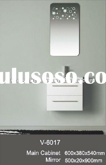Modern MDF Cabinet, Wall Hung Mirrored Cabinet, Mirrored Bathroom Vanity,Wooden Cabinet Model V-6017