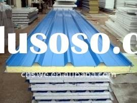 Polyurethane roof sandwich panel with high quality and competitive price