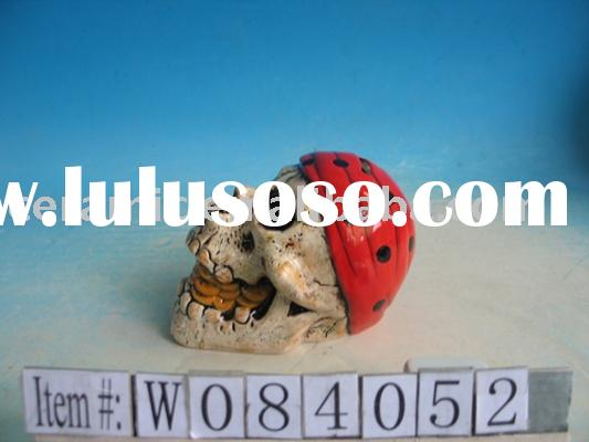 SKULL SHAPED COIN BANK