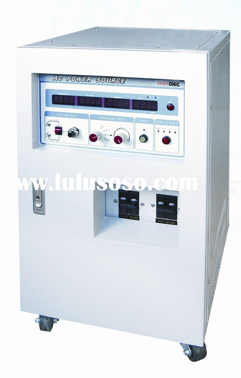 Three-Phase Variable Frequency AC Power Supply