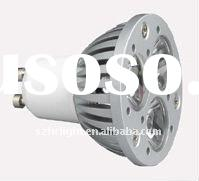 hot gu10 3x1w dimmable led lamp 220v