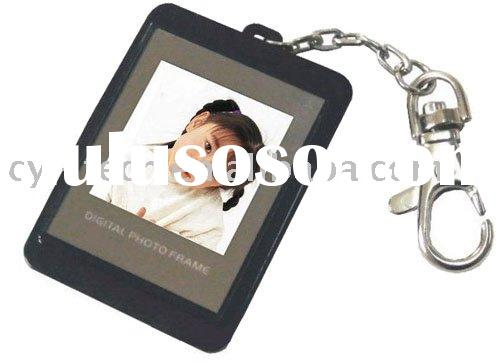 key chain 1.5 inch Digital photo frame