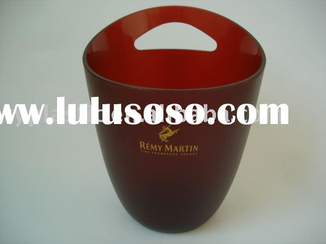 plastic ice bucket for beer promotion project