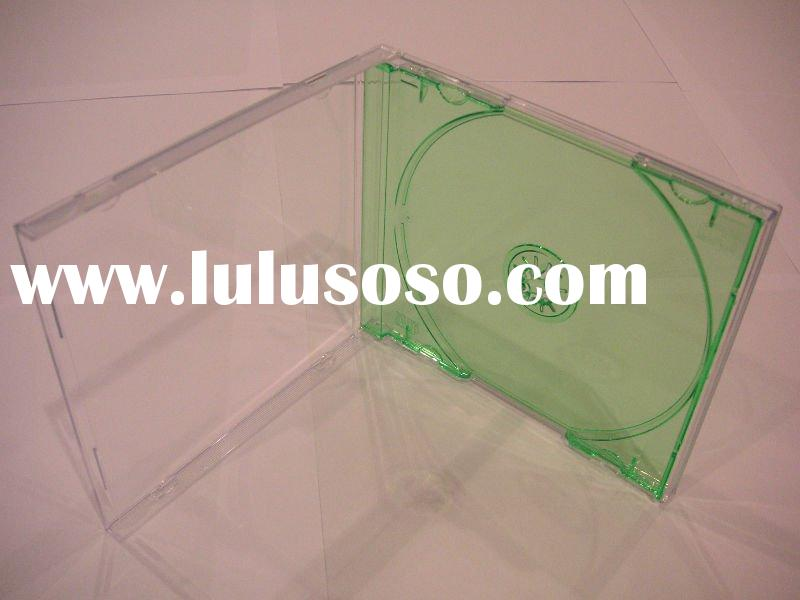 10.4mm Standard Jewel Case with Color CD Tray