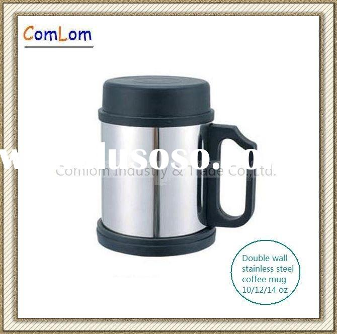 12oz double wall stainless steel coffee mug/coffee cup/insulated mug
