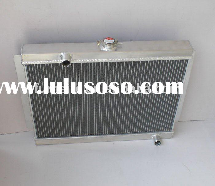 1951-1954 CHEVY W/COOLER racing aluminum radiator,auco cooling car radiator