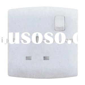 1 G 13A British standard switched socket